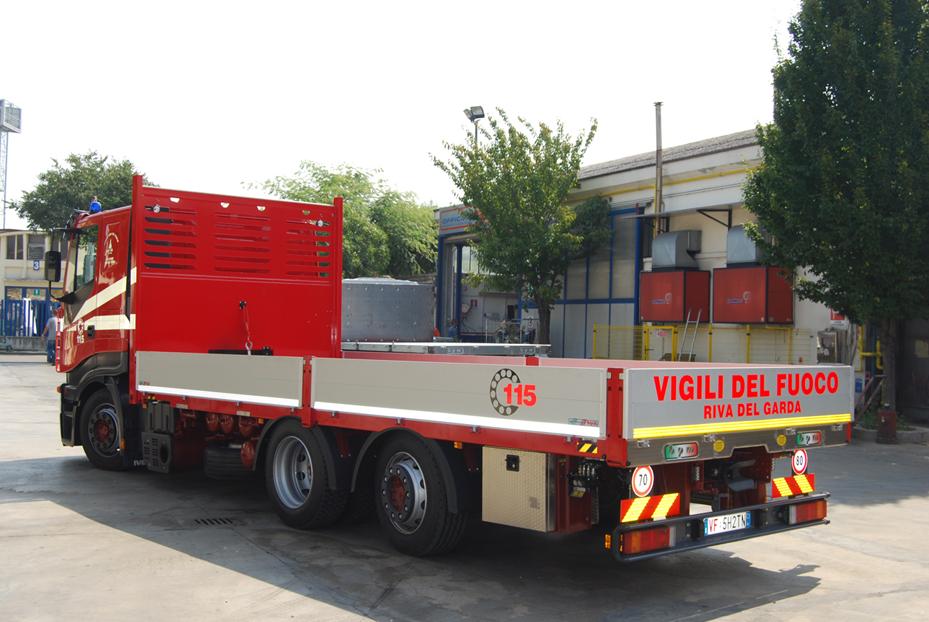 Allestimenti Camion Per Vigili Del Fuoco