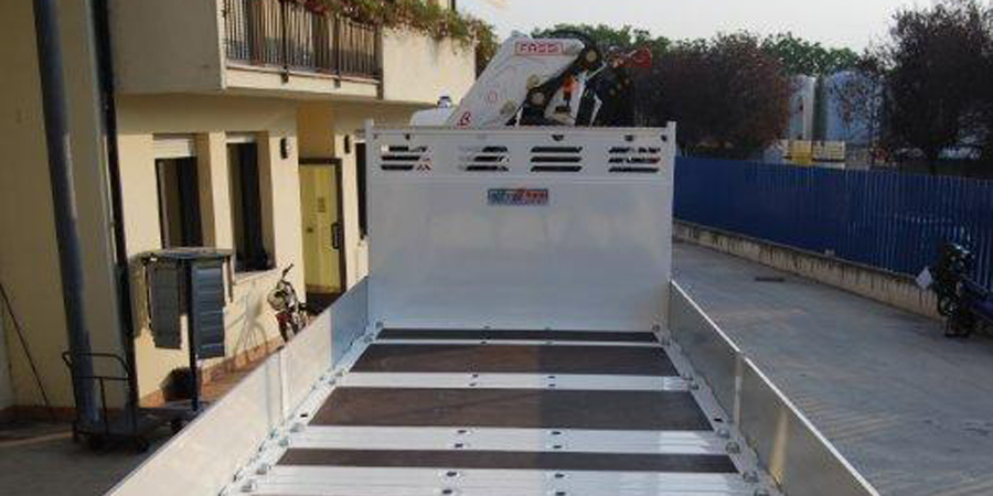 Allestimenti camion per protezione civile