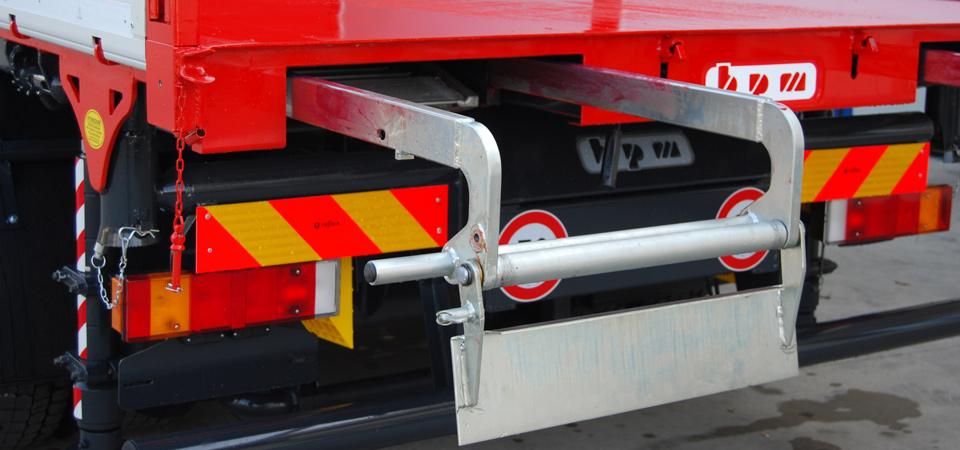 New Rampe Sotto Cassa Ribaltabile per mezzi su auticarri