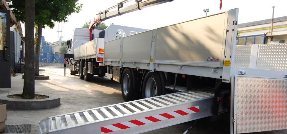 BPM - Motrice e biga per trasporto mezzi agricoli