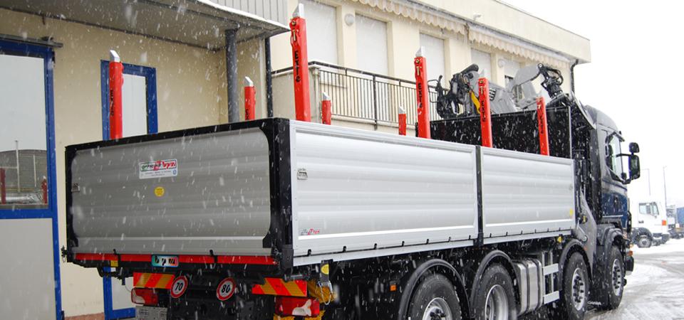 Officine BPM - Allestimento camion trasporto legnami