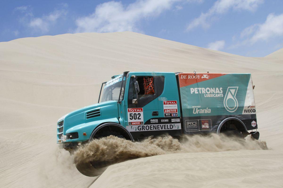 Parigi Dakar 2012 – Il dominio Iveco