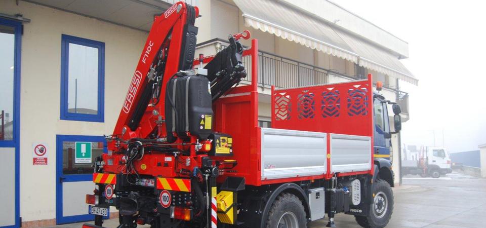 Officine BPM - Allestimento camion per servizi acqua, energia, gas e ambiente