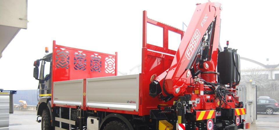 Allestimento camion per servizi acqua, energia, gas e ambiente