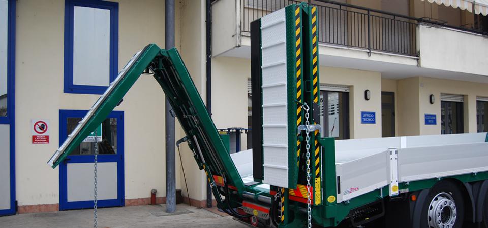 Sicura idraulica sulle rampe di carico - Officine BPM