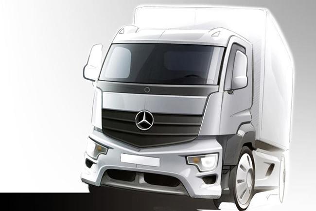 Mercedes Antos – la soluzione per trasporti pesanti a corto raggio