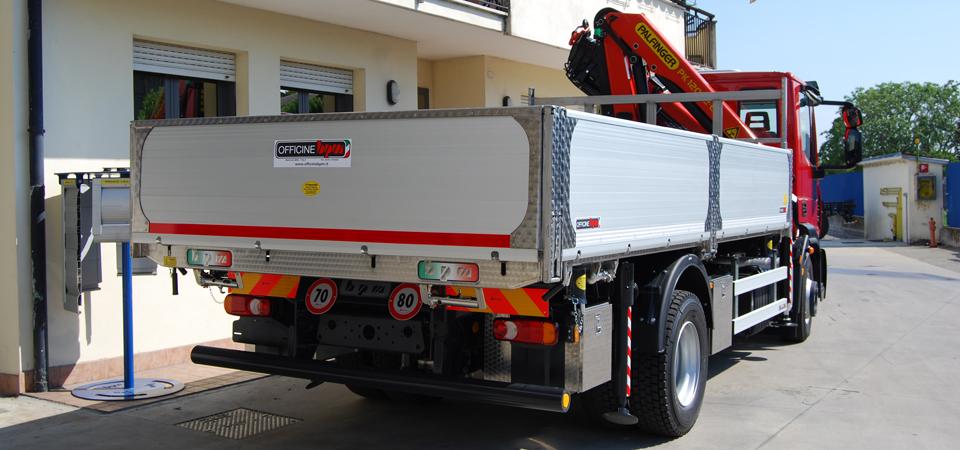 Sponde cassone camion personalizzate - Officine BPM