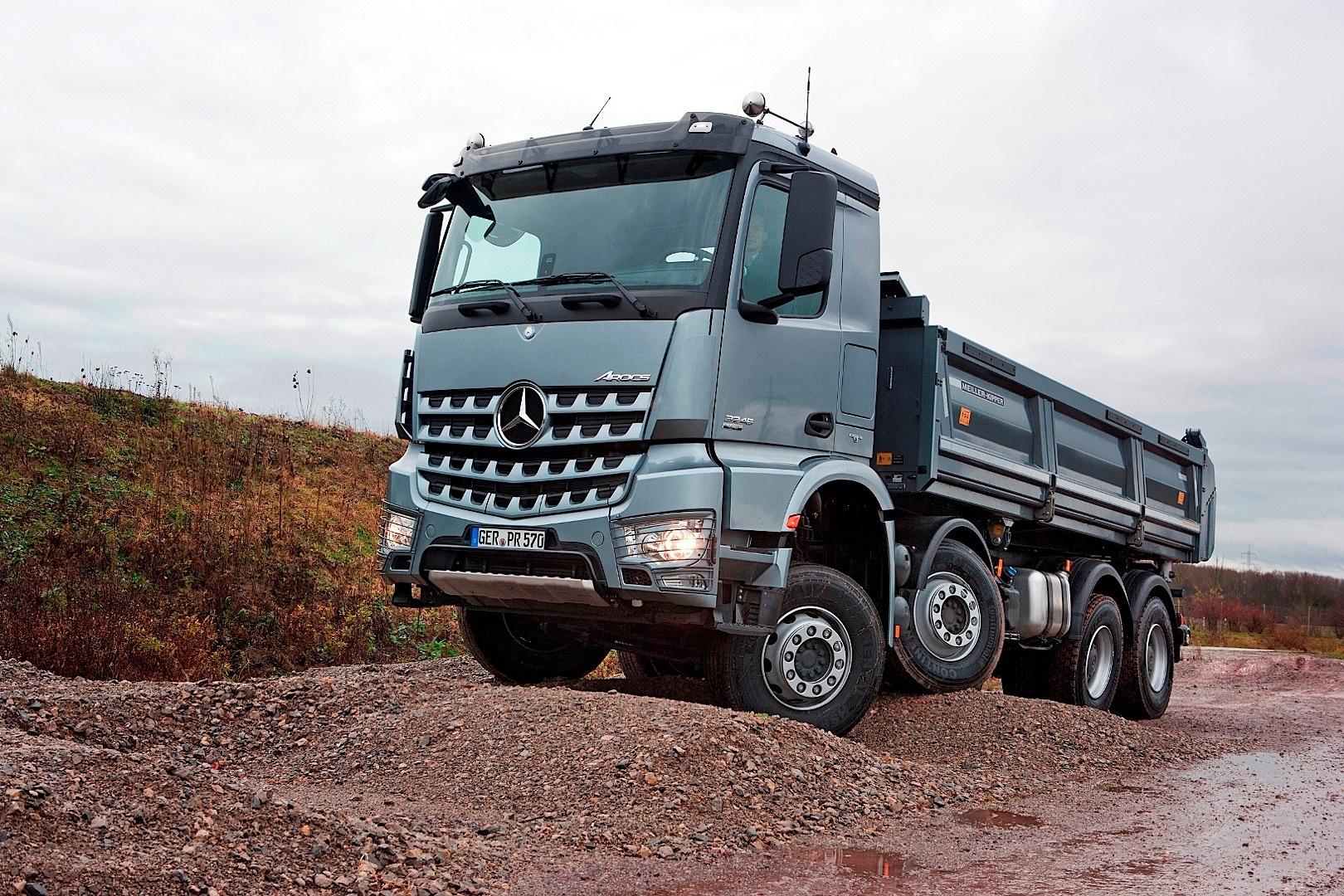 Mercedes-Benz Arocs: forza, efficienza e robustezza!