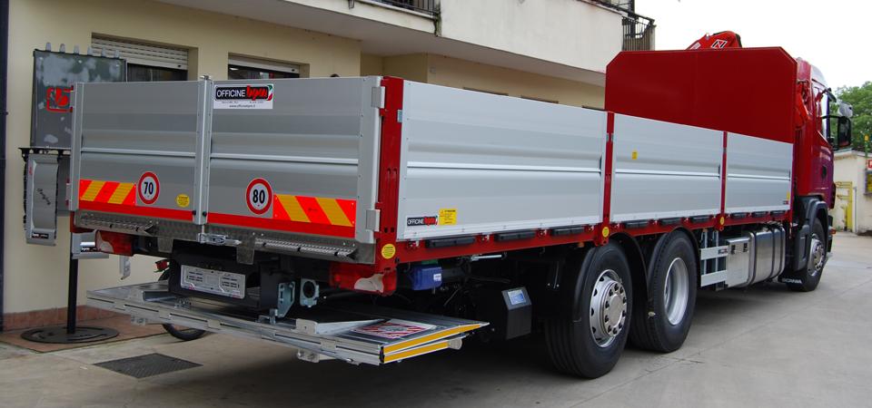 Allestimento Scania G440 Mantova per trasporti cantieri edili magazzini depositi