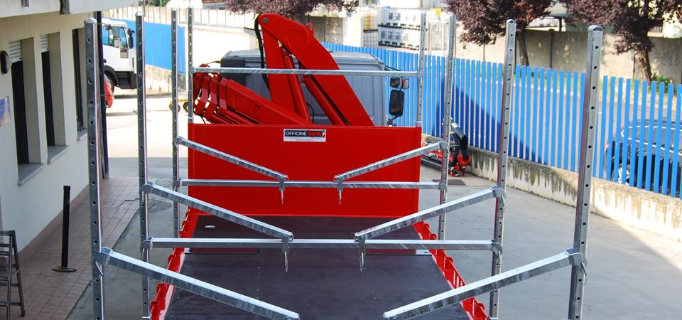 Allestimento per trasporto barche e gommoni blog for Riparazione della cabina di log