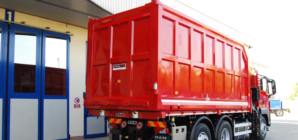 Allestimento per trasporto legno e derivati blog officine bpm for Allestimento ufficio