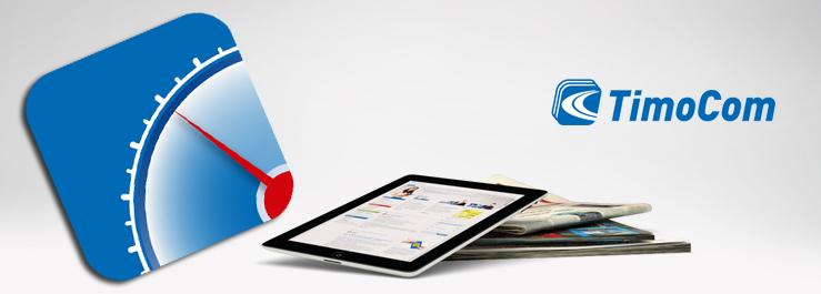 TimoCom lancia la sua app per monitorare i trasporti