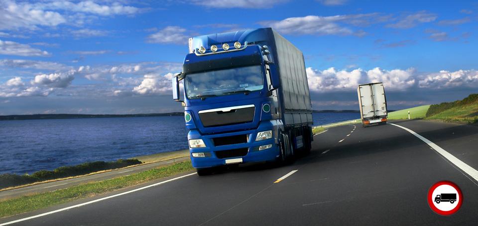 Il Calendario dei divieti di circolazione camion per l'anno 2014