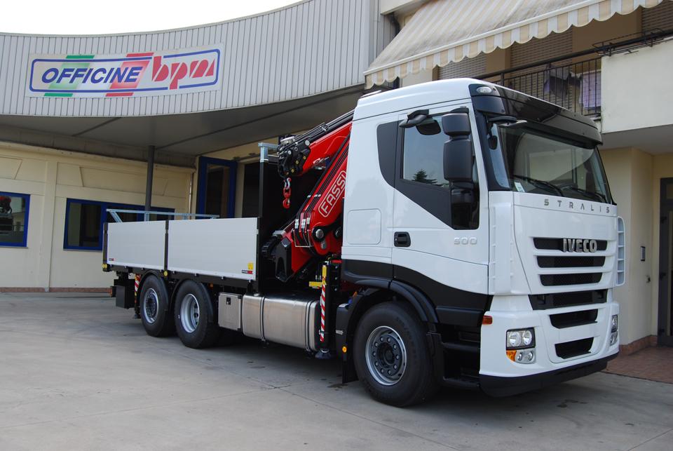 Allestimento per trasporto merci su strada