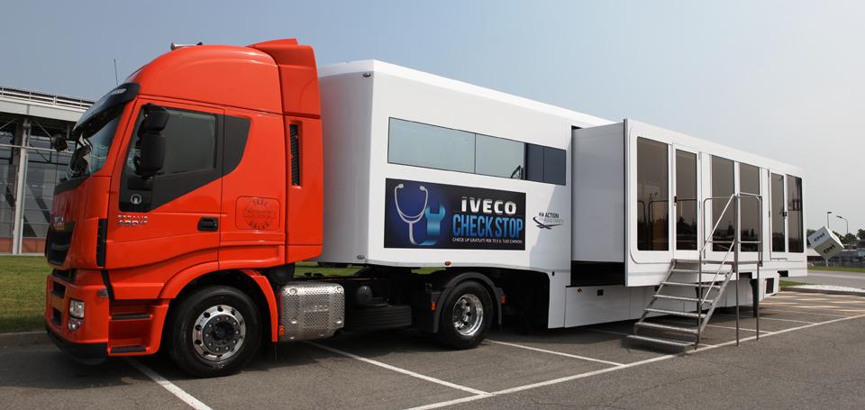 Check-up per Camion ed Autisti, un' utile iniziativa IVECO.
