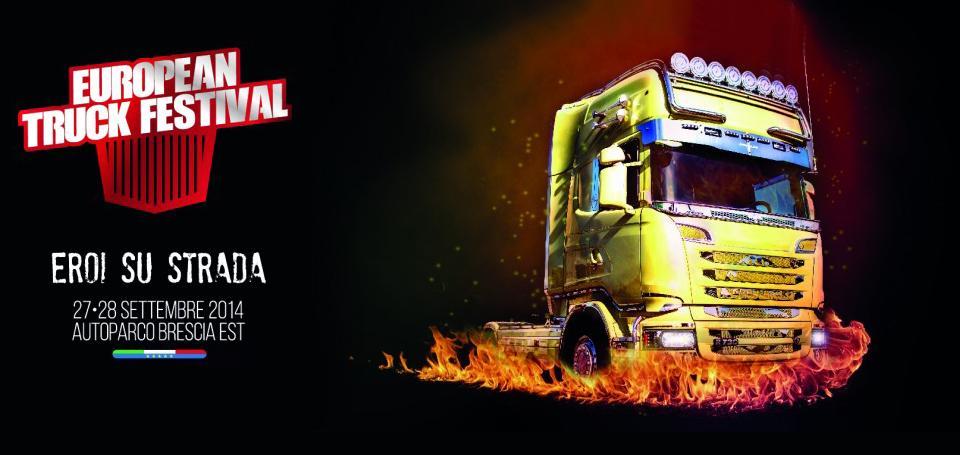 European Truck Festival: gli eroi su strada si trovano a Brescia!