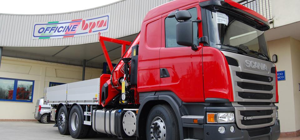 Allestimento per traslochi industriali e trasporto macchinari