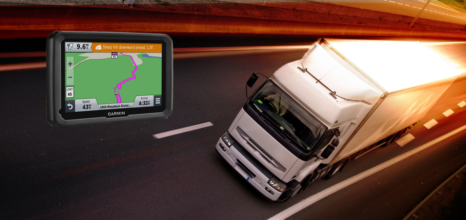 Garmin presenta due nuovi navigatori studiati appositamente per i camion.