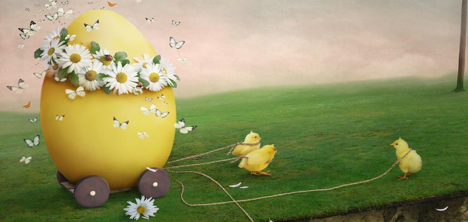 Auguri di buona Pasqua!
