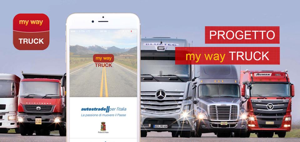 My Way Truck – l'app di infomobilità per l'autotrasporto