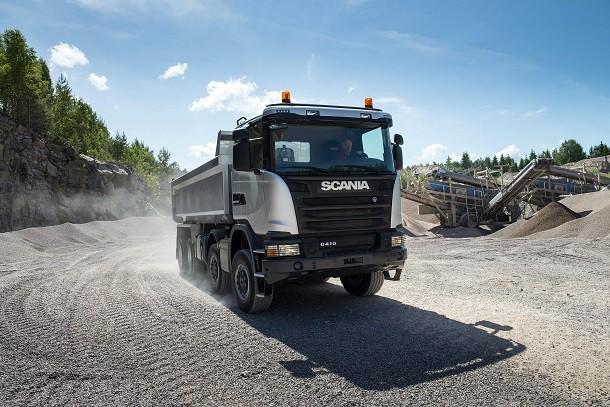 Allestimenti per i camion cava cantiere di Scania: affidati ad Officine BPM