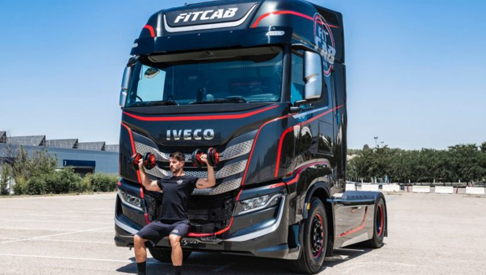 Iveco S-WAY Fit Cab: un'innovativa palestra su ruote.