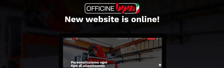 Online il nuovo sito di Officine BPM