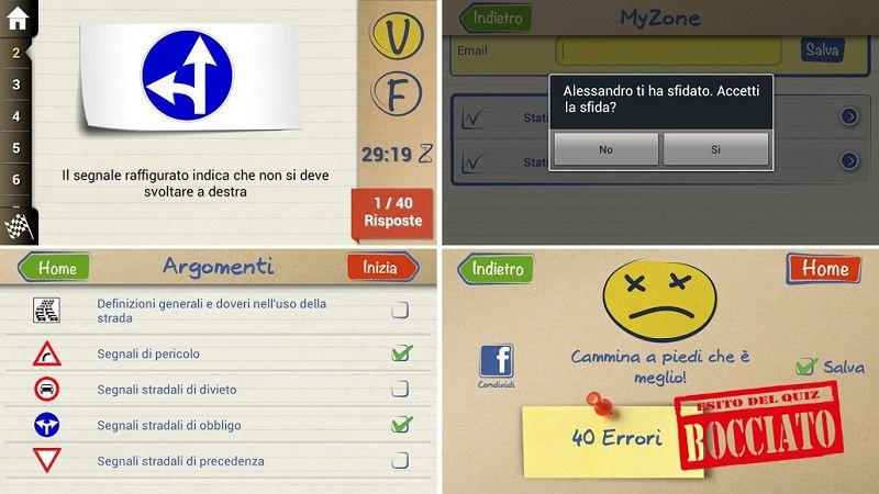 App QuizPatente+: l'esame di teoria non è più un problema