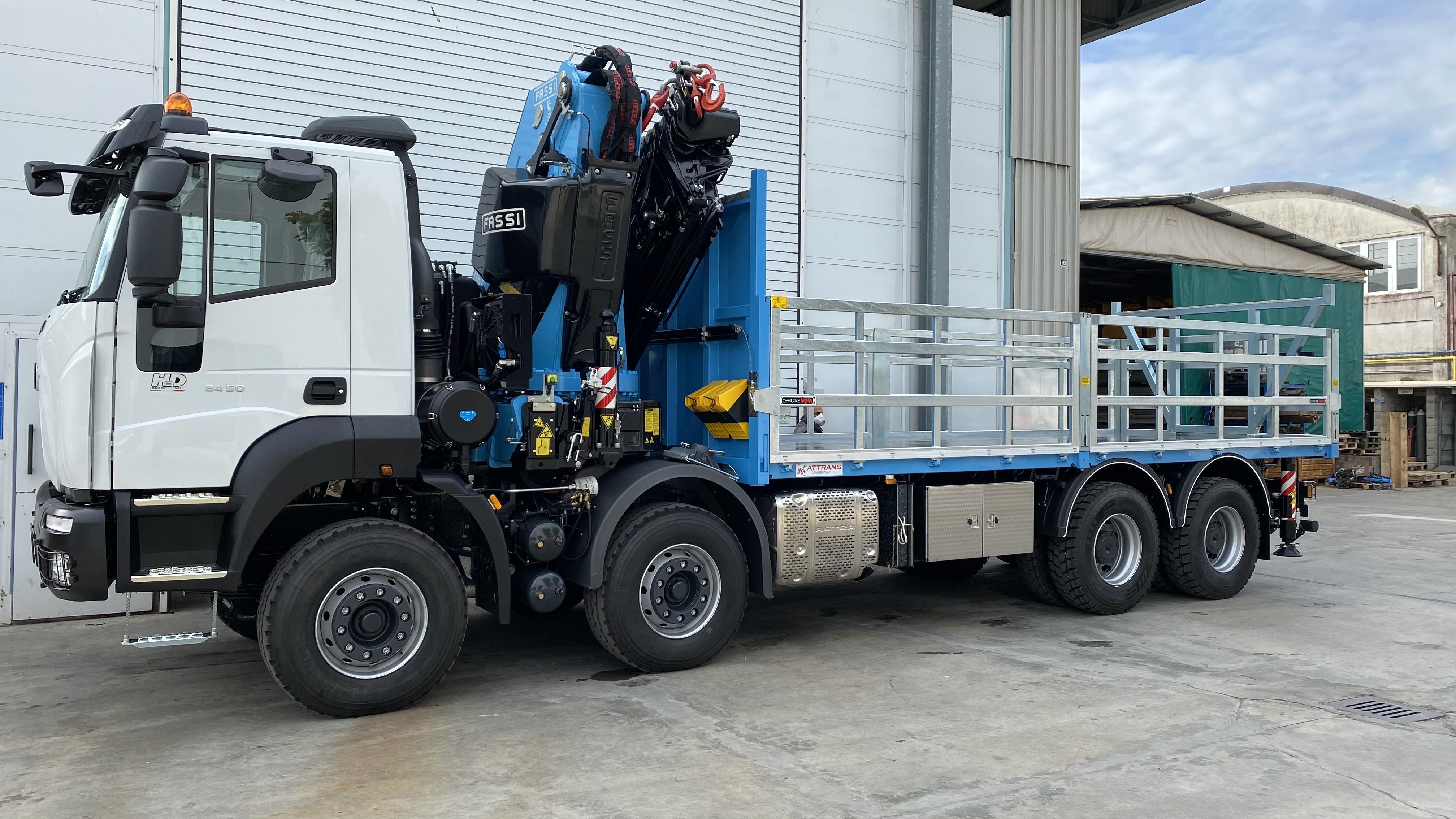 Allestimento camion per trasporto mattoni: scopri cosa abbiamo realizzato il nostro cliente di Malta.