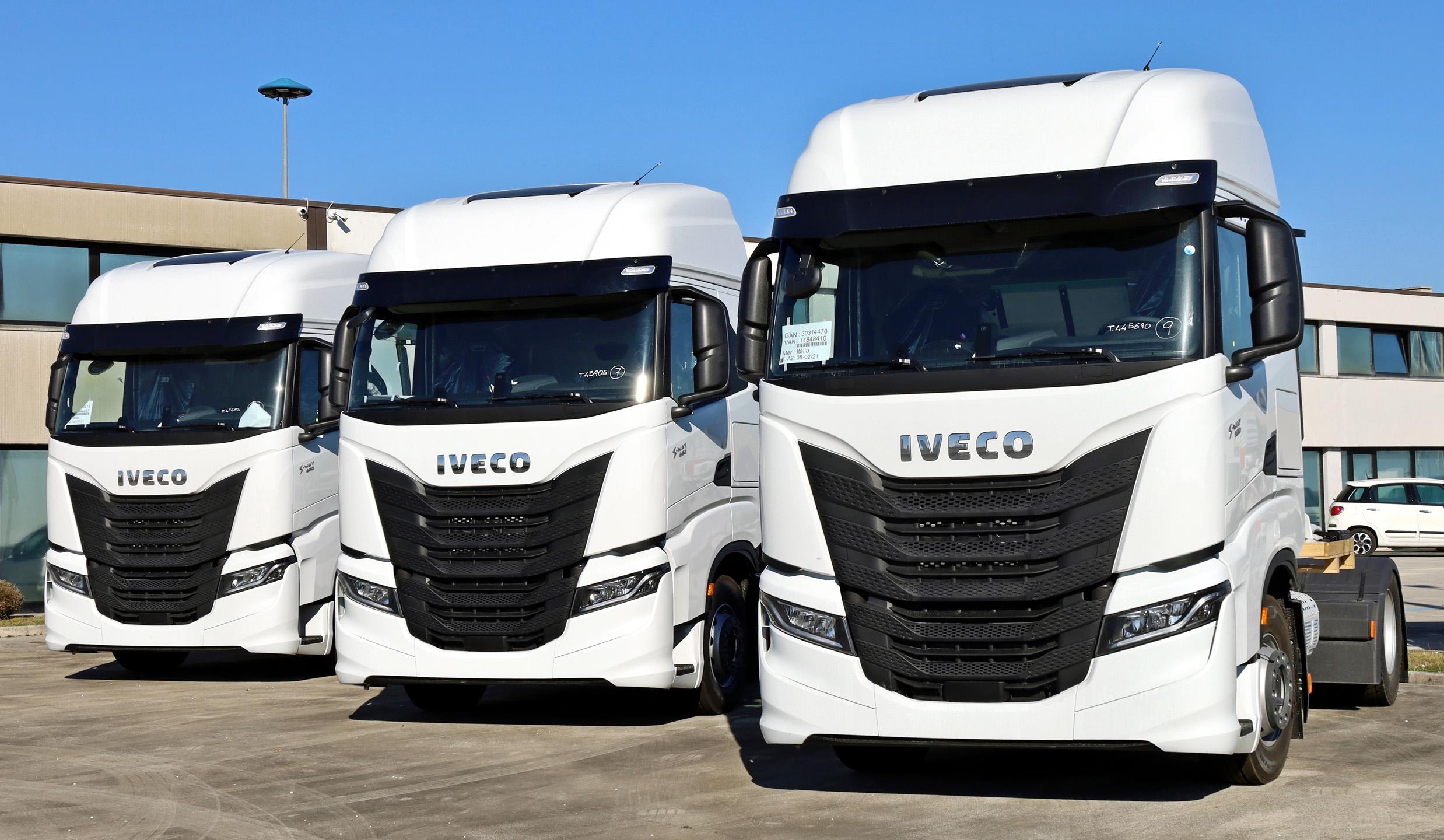 iveco s way lng camion alimentati a gas di Iveco