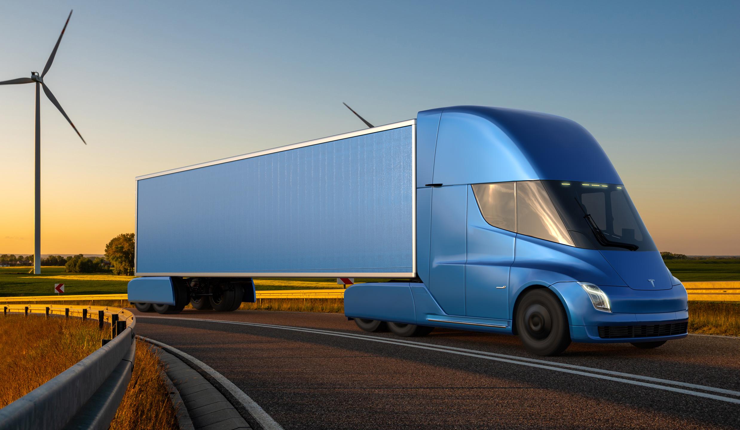 In arrivo il nuovo Tesla Semi, un camion 100% elettrico